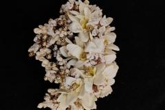White-Floral-Bun-Hair-Accessory