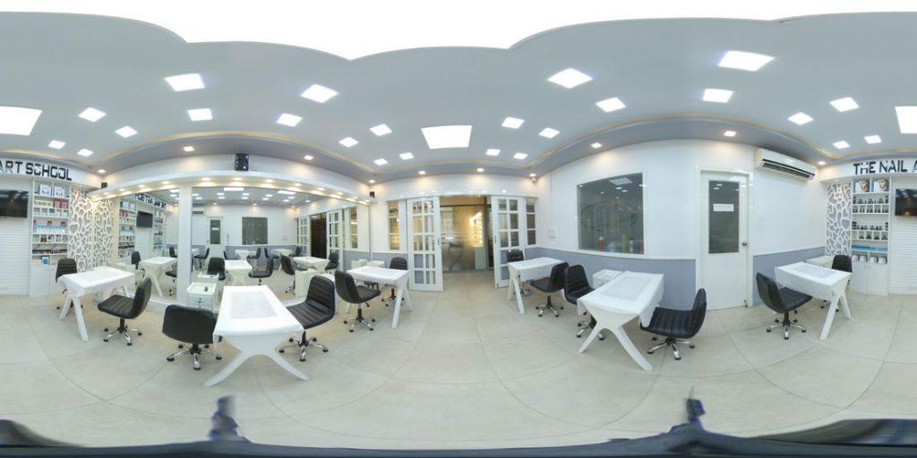 zorain's academy - Make up Training Room Work Stations at Zorain's Academy